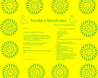 Fun Scavenger hunt game about SPRINGTIME! Teach young kids about the differences in nature in spring. Nature game.