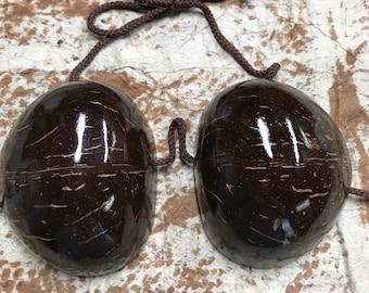 Professional Coconut bra- Size C cup, Hula or Tahitian dance