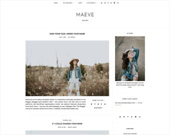 Maeve | Responsive Blogger Template + Free Installation