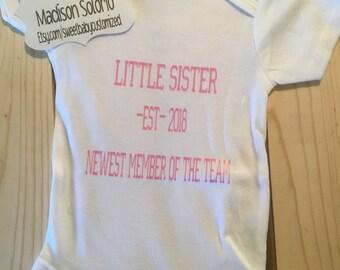 Customized Little Sister Bodysuit