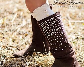Kids Leg Warmers Boot Topper Boot Socks Skirt Socks Baby Girl Gift Idea