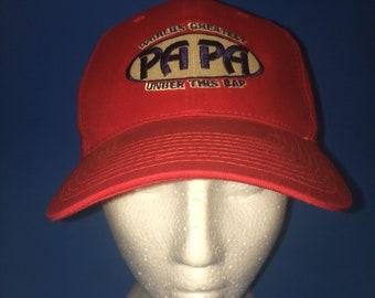 Vintage worlds greatest grandpa under this hat Papa 1990s