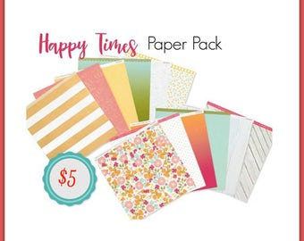 Close to My Heart Happy Times paper pack