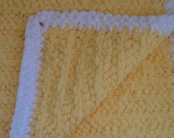 Handmade baby blanket ultra plush