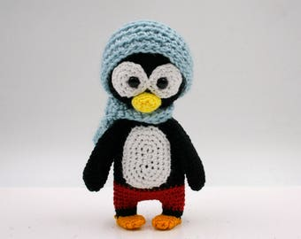 Crochet pattern: Yo the mini penguin