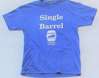 SINGLE BARREL - Kentucky bourbon t-shirt by tuckygear