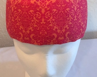FreezeIt! Migrine Headwraps Happy Orange and Pink