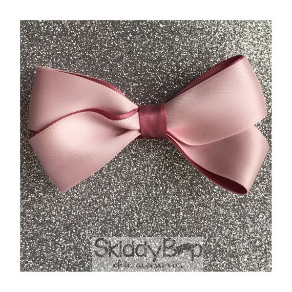 Satin Double Bow