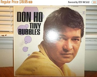 Vintage 1966 Vinyl LP Record Tiny Bubbles Don Ho Near Mint Condition 12896