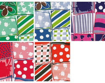 Crazy Quilt Oilcloth By The Yard Your Choice of Color