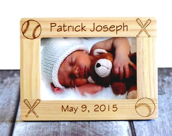 New Baby Gift, Personalized picture frames- gift for parents- personalized newborn gift, Newborn Gift