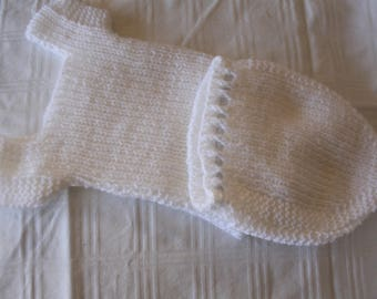 Hand knitted Dolls vest, knickers and leggings