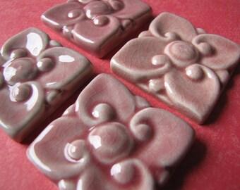 Kuping Guling Pink Ceramic Tile