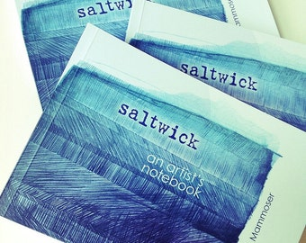 ARTIST BOOK - SALTWICK - sketchbook - drawings - art book