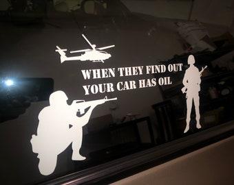 Oil meme sticker!