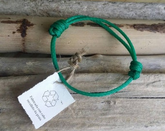 Recycled marine rope bracelet / Surf bracelet / Ecofriendly bracelet / Surf gift / Zero waste gift / Vegan gift / Upcycled / Surf / Man gift