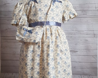Children's Vintage Cotton Dress