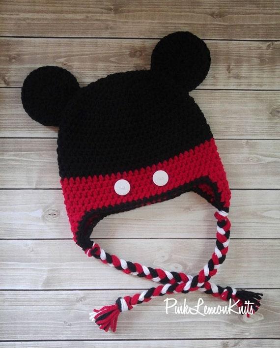 Micky Maus Hut häkeln Micky Hut Baby-Foto-Stütze Baby Tier