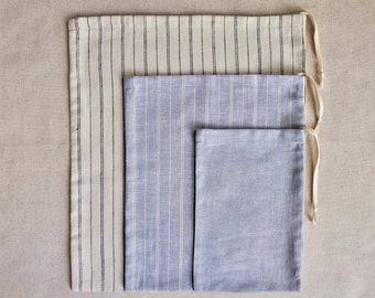 Combo 3 Pack - Organic Bulk Bag, S-M-L