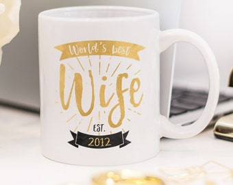 Wife mug, great gift for your beautiful wife