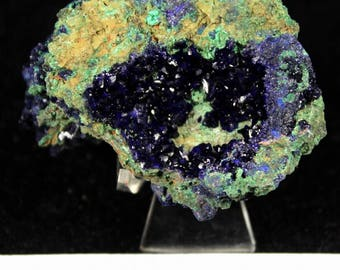 Extreme Sparkling Blue Azurite from Liufengshan Anhui China CM672753