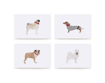 Assorted Dogs Card Set