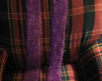 Super sparkle purple scarf