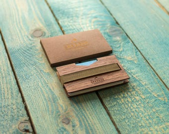 Wallet / Wooden money clip