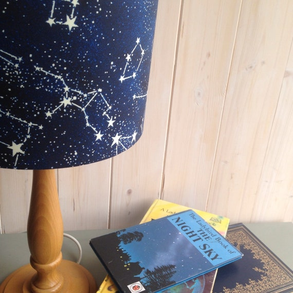 Star Constellations Glow in the Dark Lampshade. Only 15cm