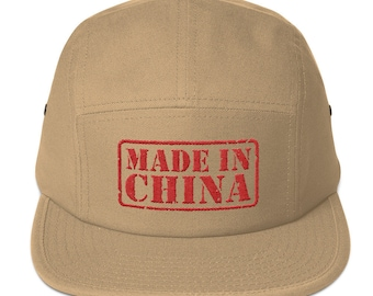 "Made IN China"" Five Panel Cap"