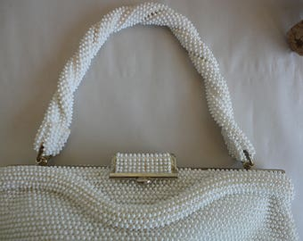 Petite Bead Beaded Purse