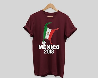 Mexico Soccer Football 2018 Cup Shirt Flag Dabbing World Jersey Tee T-Shirt  Mexico TShirt c18d66a4d