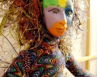 Spirit Art Doll-Nedra-Ooak (Made to Order by Request)