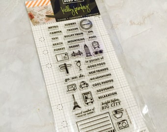 Planner Stamps Kelly Purkey Clear Stamps GROTE STAD