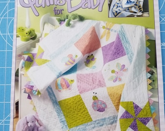 Taddpole Quilts for Baby