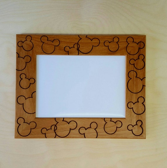 Mickey and Minnie Mouse Picture Frame 5x7 Custom Disneyland