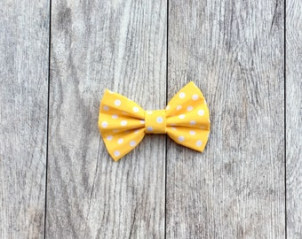 Speckled Sunshine Dog + Cat Bow Tie