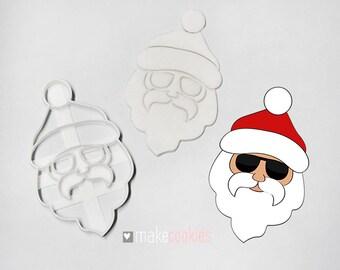Santa Claus 5 Cookie Cutter