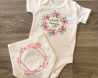 Fearfully And Wonderfully Made Vest & Bib
