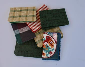 Gift Card Holder~Business Card Case~Geometric Patterns~Card Pouch for Women