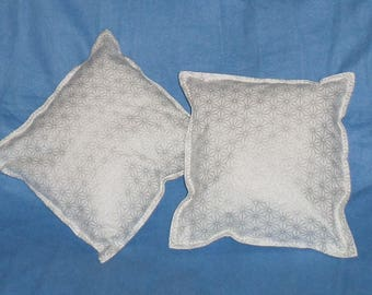 Decorative pillows for bedroom or living white