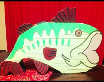 Bass Fish Pinata