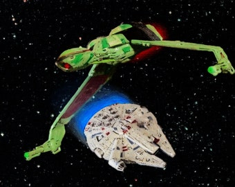 Star Wars versus Star Trek:  The Bird Ships