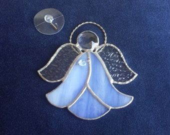 Stained Glass Angel Light Catcher Window Hanger Sun Catcher