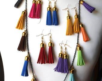 Adornment tassels multicolor original