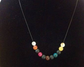 Simple yet beautiful diffuser necklace