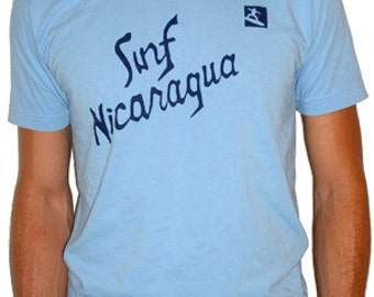 Surf Nicaragua Chris Knight Real Genius Movie Screenprint Tshirt
