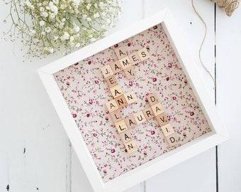 Family Frame/ Mothers Day Gift / Family Frame/ Gifts for Her/ Family Gift / Birthday Gift For Mom/ Mom Gift/ Anniversary Gift/ New Home Gift