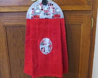 Barbecue Dish Towel Hanging Kitchen Towel Hand Towel Tea Towel Dish Towel Kitchen Towels