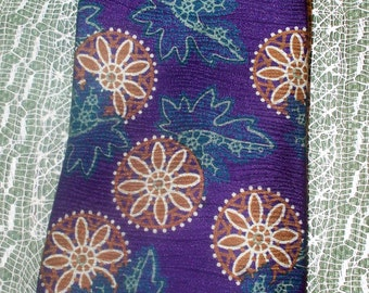 Vintage Claiborne Men's Tie - Made in USA of Italian Silk - 100% Silk